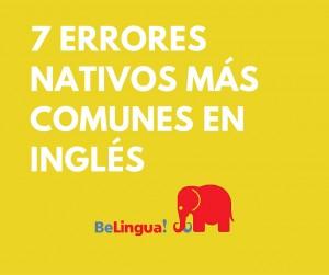 7 errores nativos más comunes en inglés Facebook