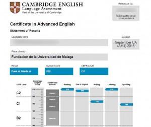 exámenes de Cambridge (1)