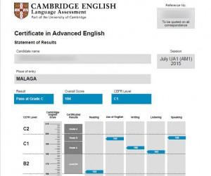 exámenes de Cambridge (2)