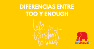 DIFERENCIAS ENTRE TOO Y ENOUGH - Facebook