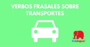 Verbos frasales sobre transportes - Facebook