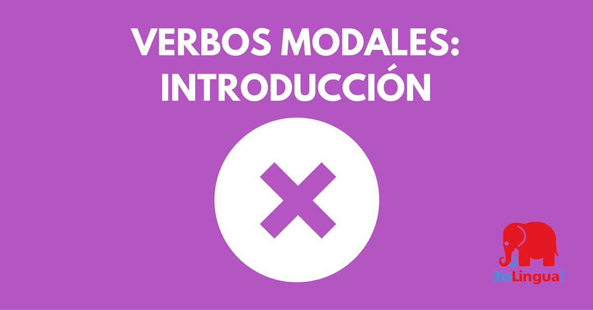 Verbos modales: introducción