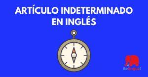 Artículo indeterminado en inglés - Facebook