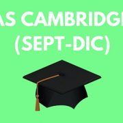 Fechas Cambridge 2016
