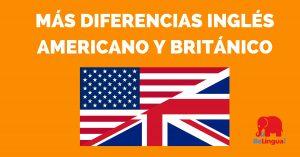 Más diferencias inglés americano y británico - Facebook