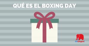 Qué es el Boxing day - Facebook