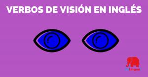 Verbos de visión en inglés - facebook