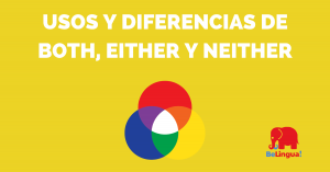Usos y diferencias de both, either y neither - Facebook