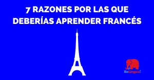 7 razones por las que deberías aprender francés cuanto antes - Facebook