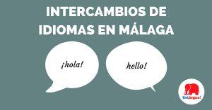 Intercambios de idiomas en Málaga - Facebook