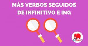 Más verbos seguidos de infinitivo e ing - Facebook