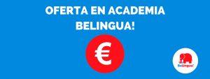 Oferta en academia BeLingua!
