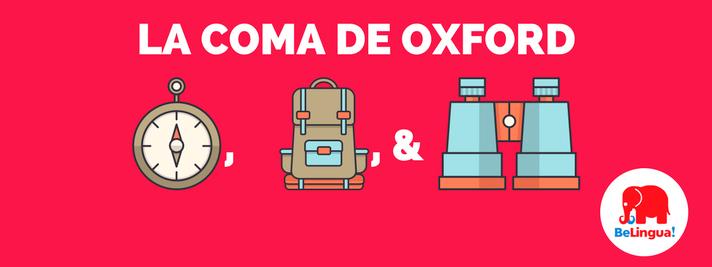 La coma de Oxford