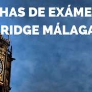 Exámenes Cambridge Málaga 2018