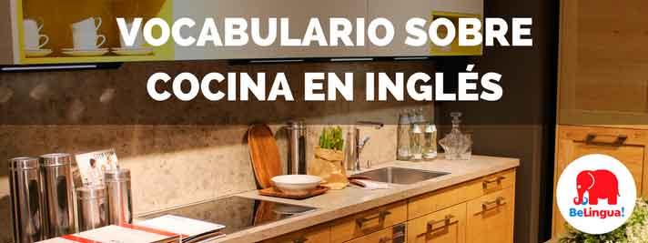 Vocabulario sobre cocina en inglés
