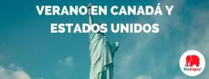 Verano en Canadá y Estados Unidos
