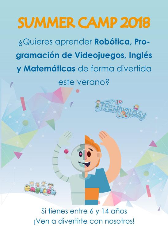 Campamento de verano en Málaga 2018 Cartel 1Campamento de verano en Málaga 2018 Cartel 1