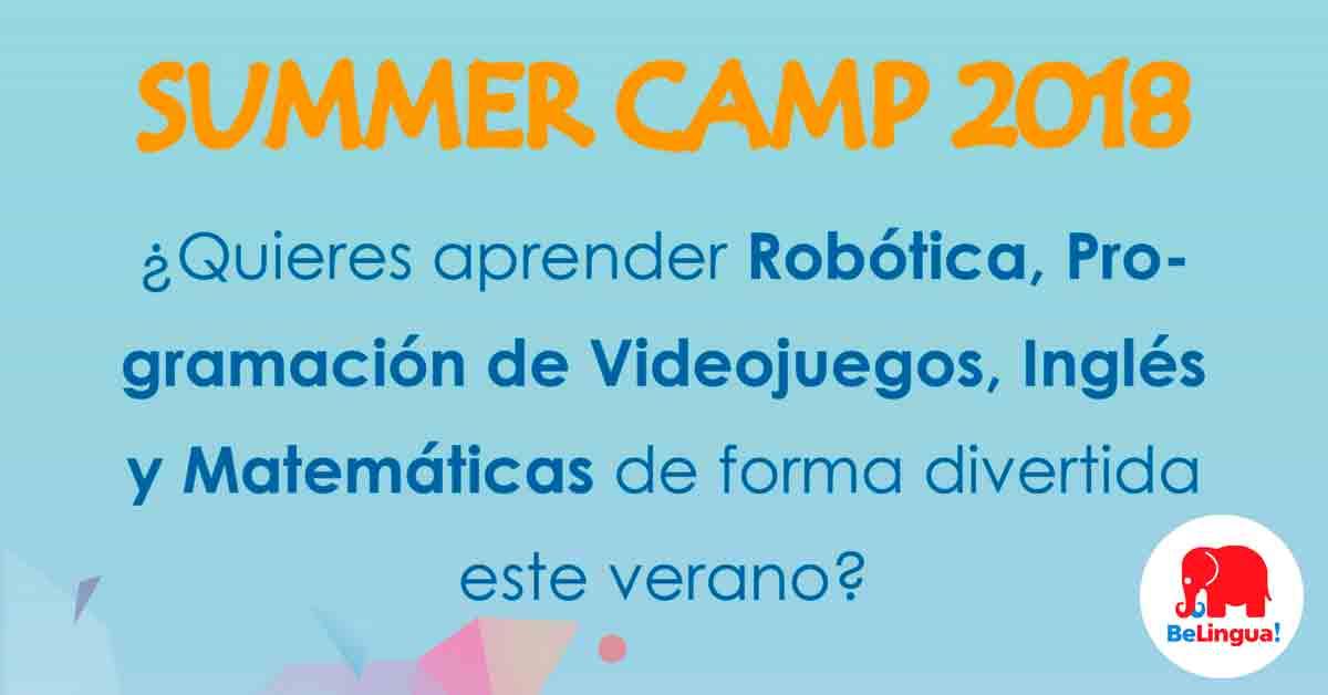 Campamento de verano en Málaga 2018 - Facebook
