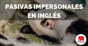 Pasivas impersonales en inglés - Facebook