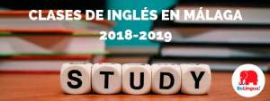 Clases de inglés en Málaga 2018-2019