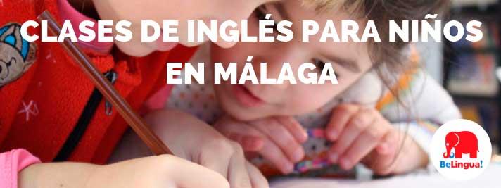 Clases de inglés para niños en Málaga