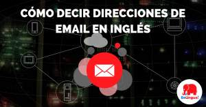 Cómo decir direcciones de email en inglés - Facebook
