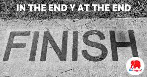In the end y at the end - Facebook