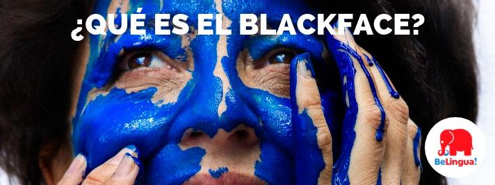 Qué es el blackface
