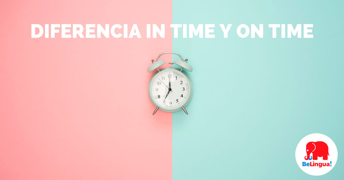 Diferencia in time y on time - Facebook