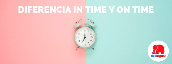 Diferencia in time y on time