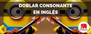 Doblar consonante en inglés