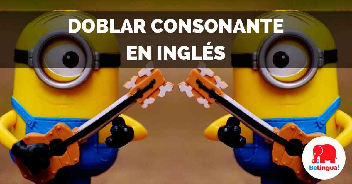 Doblar consonante en inglés Facebook