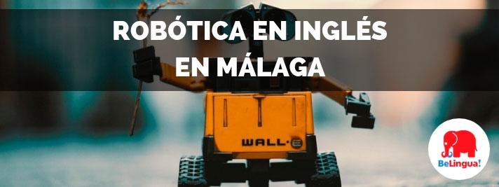 Robótica en inglés en Málaga