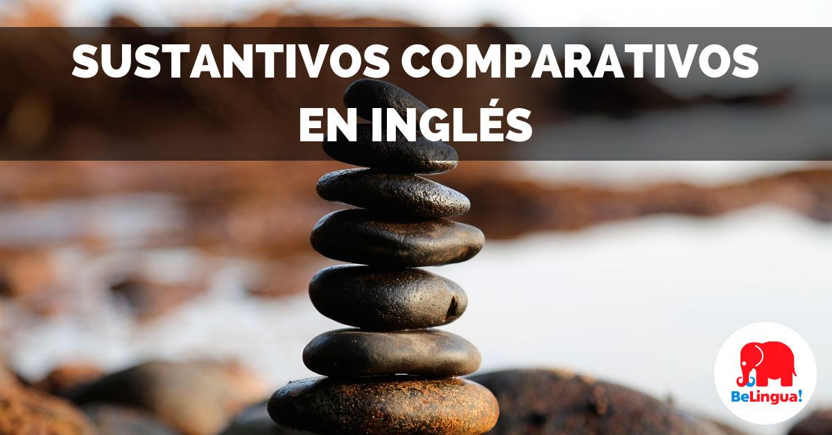 Sustantivos comparativos en inglés Facebook