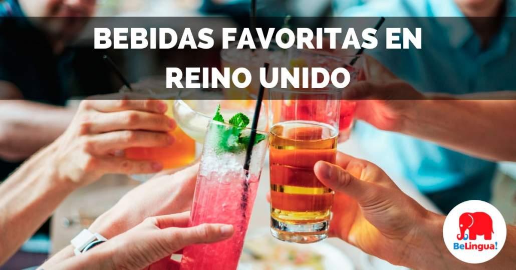 Bebidas favoritas en Reino Unido - Facebook
