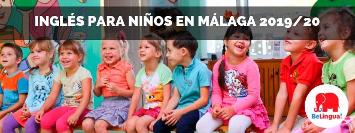 Inglés para niños en Málaga 2019/20