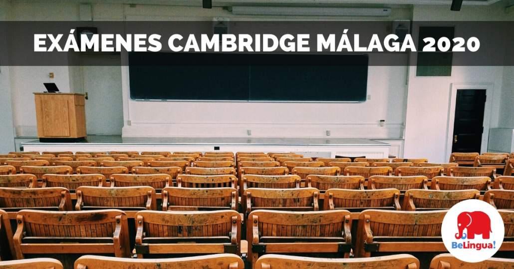 Exámenes Cambridge Málaga 2020 facebook