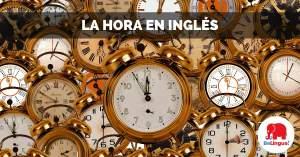 La hora en inglés facebook