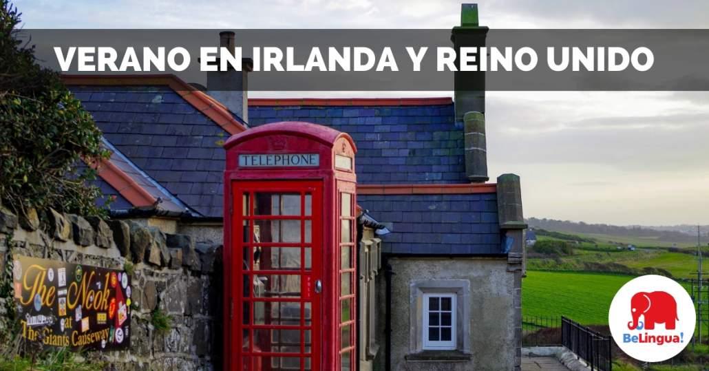 Verano en Irlanda y Reino Unido facebook