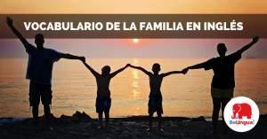 Vocabulario de la familia en inglés Facebook