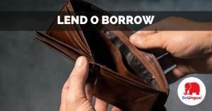 Lend o borrow facebook