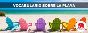 Vocabulario sobre la playa