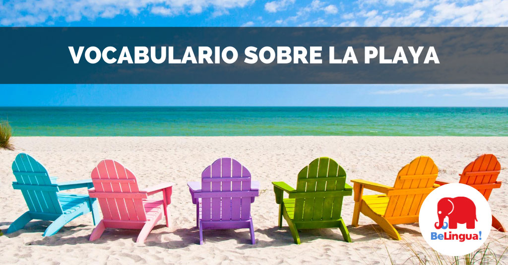 Vocabulario sobre la playa facebook
