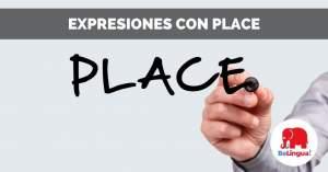Expresiones con place facebook