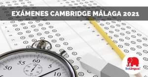 Exámenes Cambridge Málaga 2021 facebook