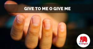 Give to me o give me facebook