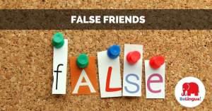 False friends facebook