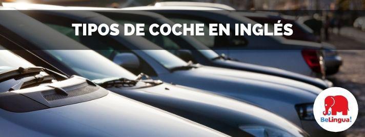 Tipos de coche en inglés