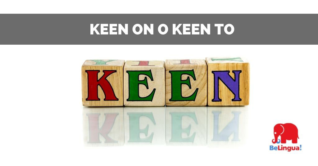 Keen on o keen to facebook