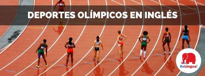 Deportes olímpicos en inglés